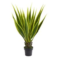 Nearly Natural 42-Inch Sansevieria Agave Plant