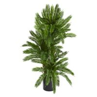 Nearly Natural 36-Inch Artificial Triple Cycas Plant