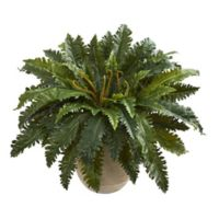 Nearly Natural 28-Inch Marginatum Artificial Plant in Sand Planter