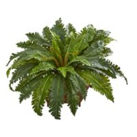 Nearly Natural 24-Inch Marginatum Plant in Metal Planter