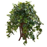Nearly Natural 34-Inch Ivy Artificial Plant In Stand Planter