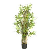 Nearly Natural 5-Foot Bamboo Grass Silk Plant