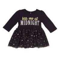 Baby Starters® Size 12M Kiss Midnight Dress in Black