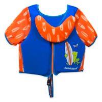 Small/Medium Swim Trainer Deluxe Vest in Blue/Orange