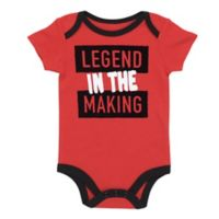 "BWA Size 9M ""Legend in the Making"" Bodysuit in Red"