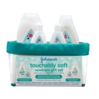 Johnson & Johnson® Cotton Touch Newborn Baby Gift Set