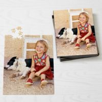 Personalized 252-Piece Pet Photo Puzzle - Vertical