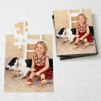 Personalized 25-Piece Pet Photo Puzzle - Vertical