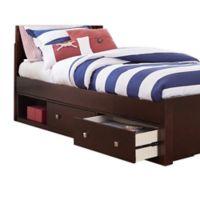 Hillsdale Furniture Pulse Storage Unit in Chocolate