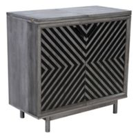 Zuo® Raven Bar Cabinet in Old Grey