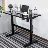 Adjustable Smart Desk in Black