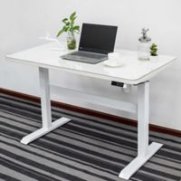 Adjustable Height Smart Desk in White