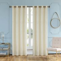 Skye 54-Inch Grommet Window Curtain Panel in Cream