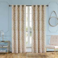 Skye 95-Inch Grommet Window Curtain Panel in Beige