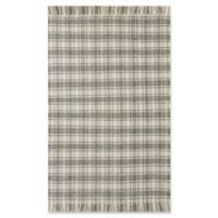 Bee & Willow™ Home Camden Plaid 8' x 10' Area Rug in Grey/Ivory