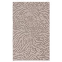 ECARPETGALLERY 4' X 6' Woven Area Rug in Grey/ivory