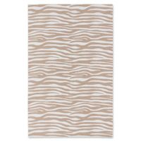 ECARPETGALLERY Ooak 4' X 6' Woven Area Rug in Cream/ivory