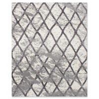 ECARPETGALLERY Ooak 8' X 10' Woven Area Rug in Cream/grey