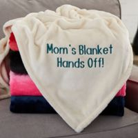 You Name It! Personalized 50-Inch x 60-Inch Fleece Blanket For Her