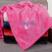 Playful Name For Her Personalized 50-Inch x 60-Inch Fleece Blanket