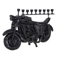 Vroom! Vroom! Motorcycle Hanukkah Menorah