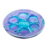 Resin Seder Plate in Blueberry Ocean