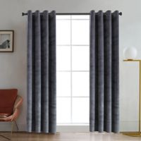 Regency 54-Inch Grommet Room Darkening Window Curtain Panel in Silver