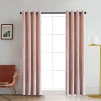 Regency 54-Inch Grommet Room Darkening Window Curtain Panel in Blush