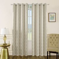 Mila 54-Inch Grommet Blackout Window Curtain Panel in Sand