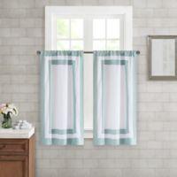 Wamsutta® Merill Window Panel Pair in Aqua