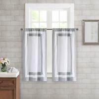 Wamsutta® Merill Window Panel Pair in Grey