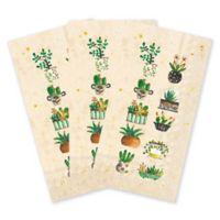 Succulents 16-Count Paper Guest Towels
