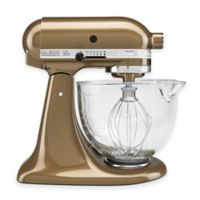 KitchenAid® Artisan® 5 qt. Stand Mixer in Toffee with Glass Bowl