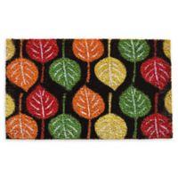 "Calloway Mills Broad Leaf Beauty 17"" x 29"" Coir Door Mat"
