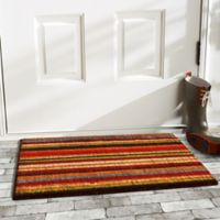 "Calloway Mills Pallisades Stripe 17"" x 29"" Multicolor Coir Door Mat"