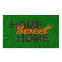 """Calloway Mills Home Sweet Home 17"""" x 29"""" Multicolor Coir Door Mat"""