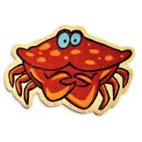 """Calloway Mills Crab 24"""" x 36"""" Multicolor Coir Door Mat"""