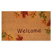"""Calloway Mills Autumn Breeze 17"""" x 29"""" Multicolor Coir Door Mat"""