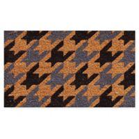 """Calloway Mills Berkshire 17"""" x 29"""" Coir Door Mat in Natural/Black/Grey"""