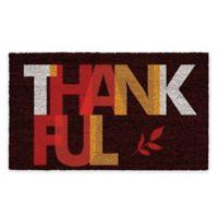 """Calloway Mills Thankful 17"""" x 29"""" Coir Door Mat"""