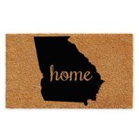 "Calloway Mills Georgia Home 24"" x 36"" Coir Door Mat in Natural/Black"