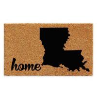 "Calloway Mills Louisiana Home 24"" x 36"" Coir Door Mat in Natural/Black"