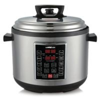 GoWISE USA® 14 qt. 10-in-1 Electric Pressure Cooker in Stainless Steel