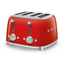 SMEG® 4-Slice Toaster in Red