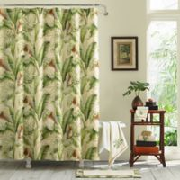 Tommy Bahama® Palmiers 72-Inch x 96-Inch Shower Curtain in Green