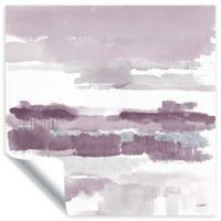 ArtWall Amethyst Wetlands 18-Inch x 18-Inch Wall Art in Purple