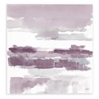 Mike Schick Amethyst Wetlands 14-Inch Sqaure Canvas Wall Art