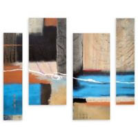 Herb Dickinson Weaving 36-Inch x 54-Inch Canvas Wall Art (Set of 4)