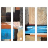 Herb Dickinson Weaving 24-Inch x 32-Inch Canvas Wall Art (Set of 4)