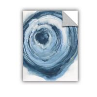 ArtWall Watercolor Geode III 18-Inch x 24-Inch Wall Decal